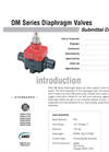 DM Valves SUBMITTAL Data Sheet